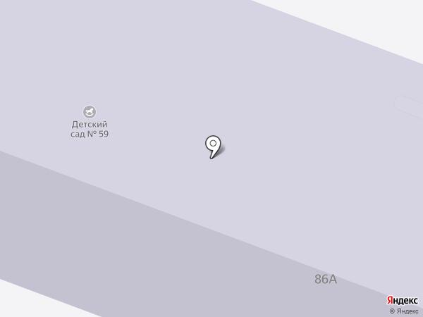 Детский сад №59 на карте Каменска-Уральского
