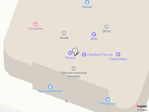 Глянец на карте Каменска-Уральского
