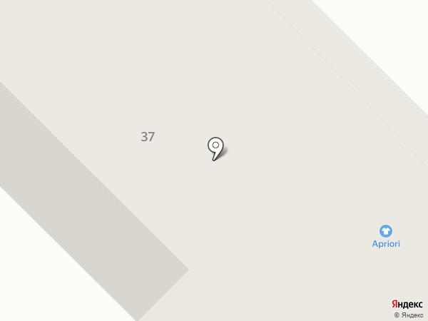 Apriori на карте Каменска-Уральского