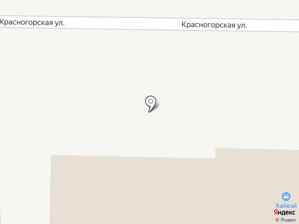Хайвэй на карте Каменска-Уральского