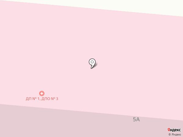 Детская городская поликлиника №1 на карте Каменска-Уральского