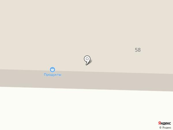 Продуктовый магазин №67 на карте Колчедана