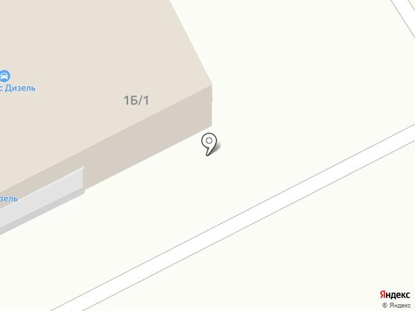 AllianсeDiesel на карте Кургана