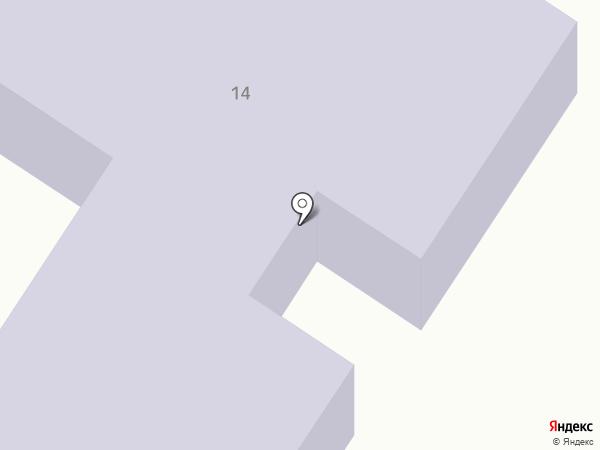 Начальная школа-детский сад №58 на карте Кургана