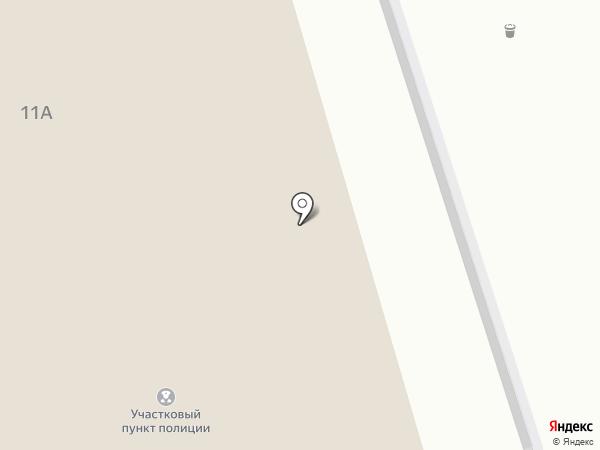 Приют для временного проживания бездомных лиц на карте Кургана