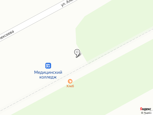 Хлебный дом на карте Кургана