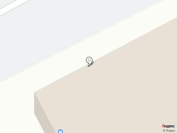 Первомайский на карте Кургана