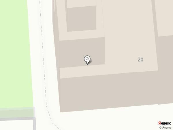 Приход Петро-Павловской церкви на карте Кургана