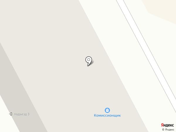 Комиссионычъ на карте Кургана