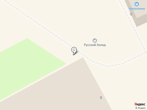 Русский холодъ на карте Кургана