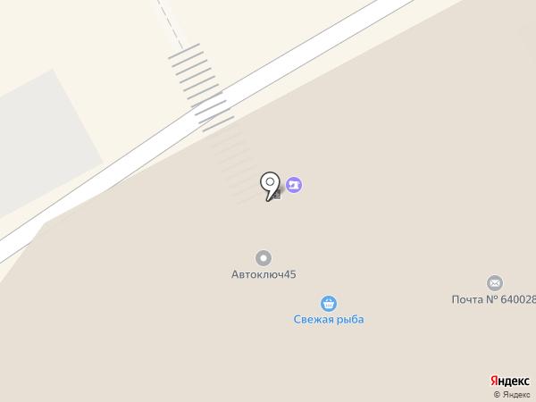 Точка стиля на карте Кургана