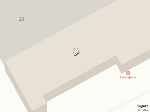 Кроха на карте Кургана