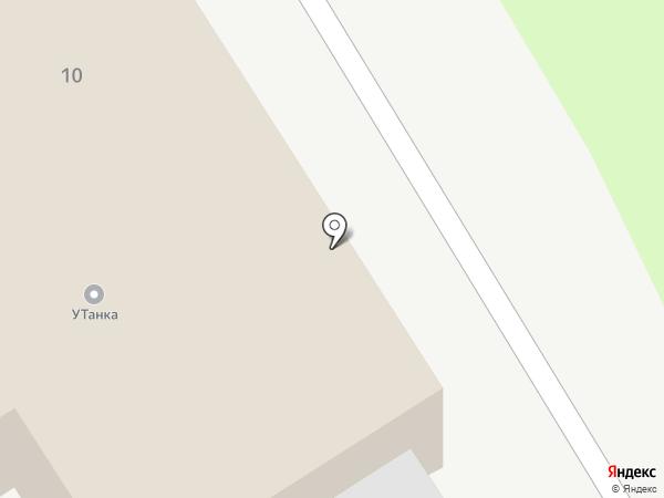 У танка на карте Кургана