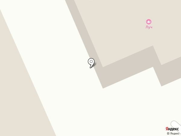 Луч на карте Кургана