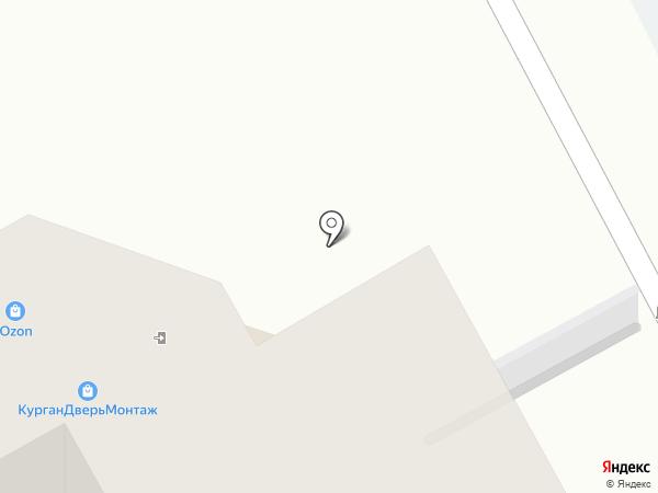 ТЕМС-сервис на карте Кургана