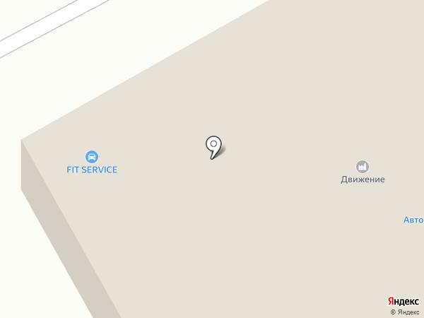 АвтоПартнер-74 на карте Кургана