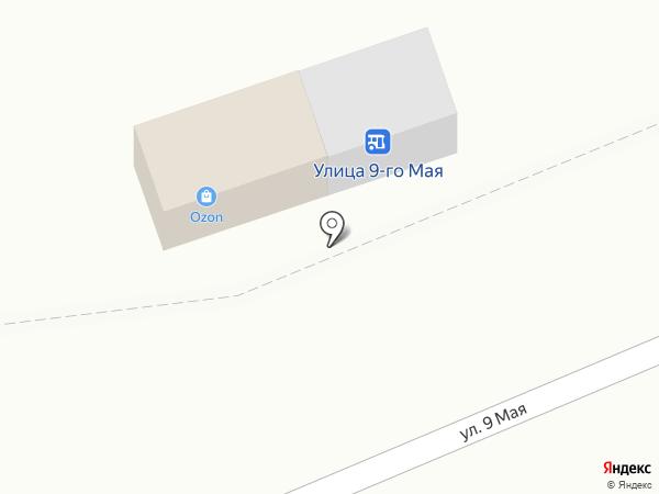Магазин овощей и фруктов на карте Кургана