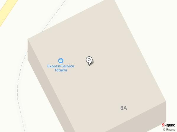 Гвардейский на карте Кургана
