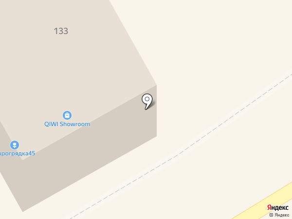 Техноавиа-Курган на карте Кургана