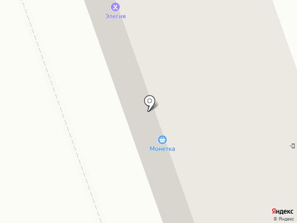 Невежинский на карте Кургана