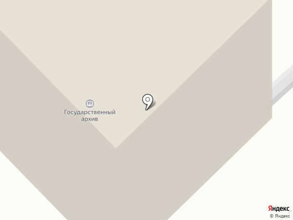 Государственный архив Курганской области на карте Кургана