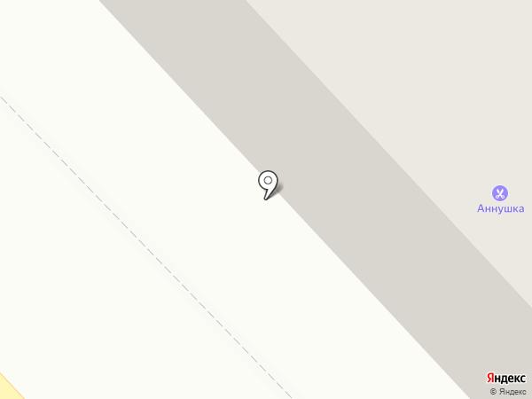 Аннушка на карте Кургана