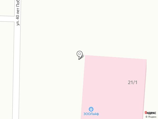 ЗООЛайф на карте Исетского