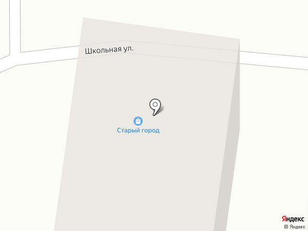 Старый город на Карбышева на карте Кургана