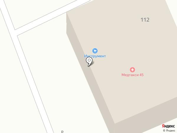 ИК Проминструмент на карте Кургана