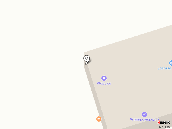 Автошкола Форсаж на карте Кургана