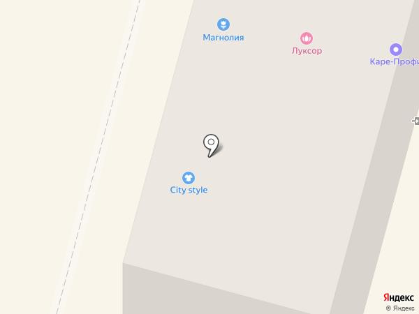 Каре-Профи на карте Кургана