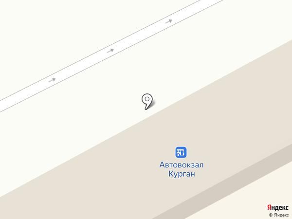 Магазин детских товаров на карте Кургана