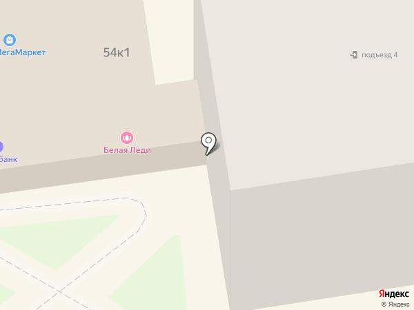Белая леди на карте Кургана