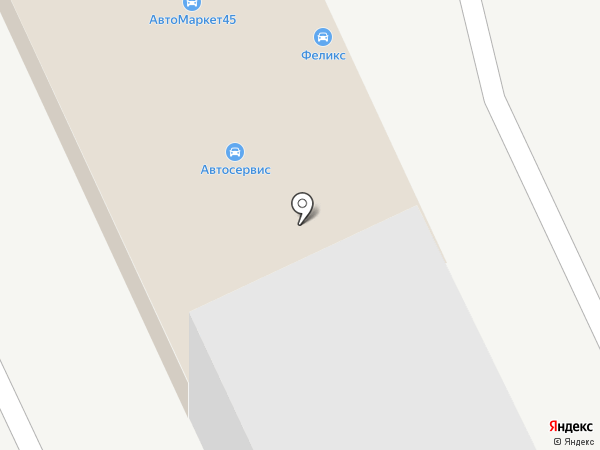 Автошанс на карте Кургана
