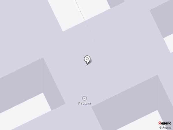 Ивушка на карте Исетского