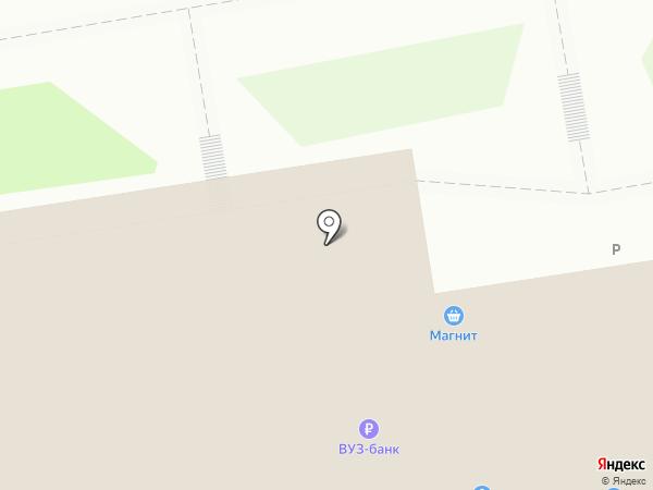 Банкомат, ВУЗ-банк на карте Кургана