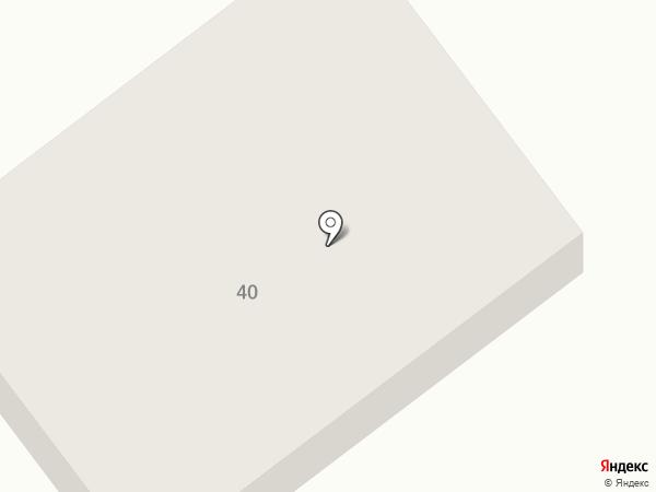 Приозёрный на карте Исетского