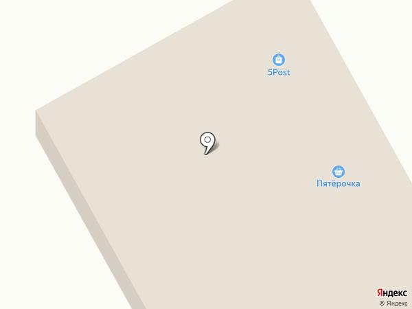 Дорожный на карте Исетского