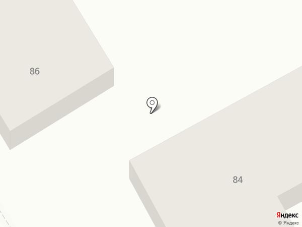 Парикмахерская на карте Исетского
