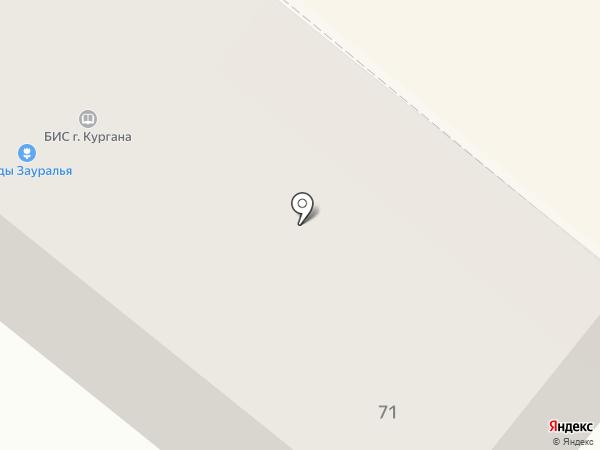 буквин на карте Кургана