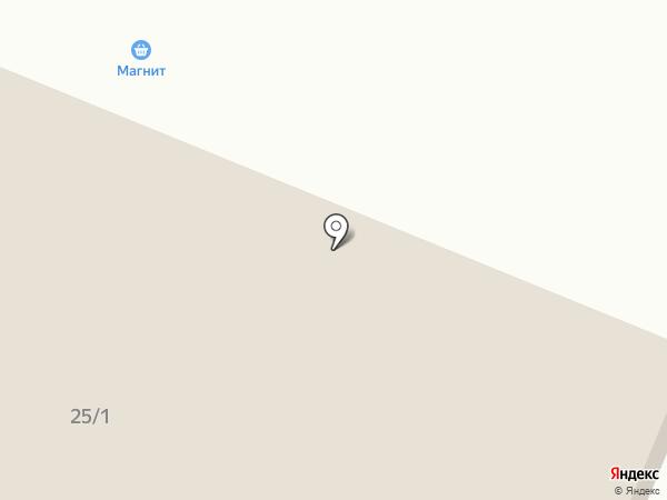 Магнит на карте Исетского