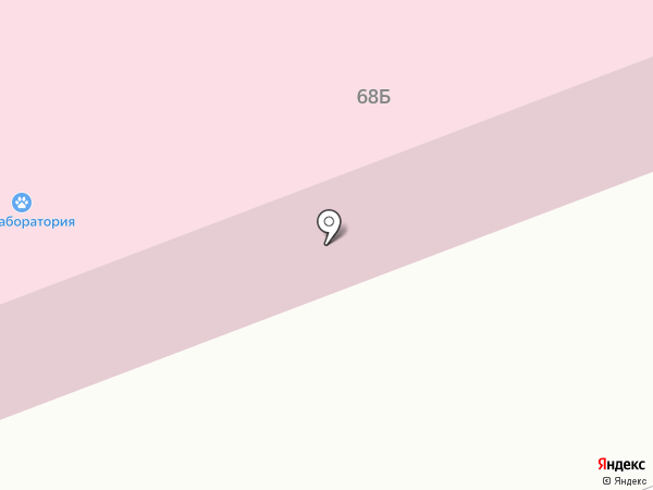 Курганская областная ветеринарная лаборатория на карте Кургана