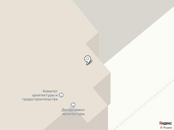 Департамент архитектуры, имущественных и земельных отношений на карте Кургана