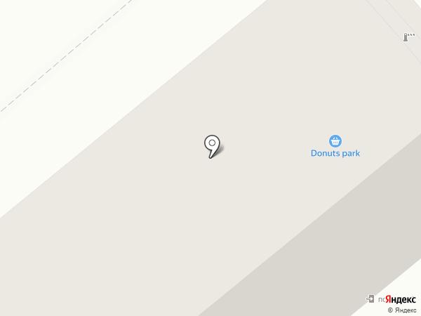 Клумба на карте Кургана