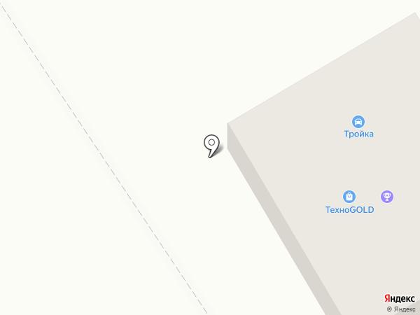 Стройхозторг на карте Исетского