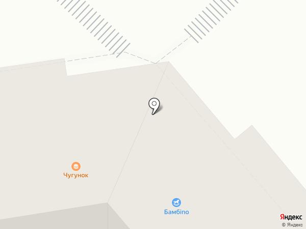 Чугун`ок на карте Кургана