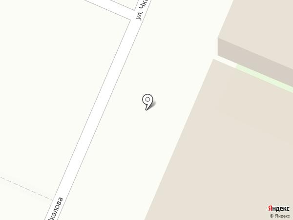 Магазин тканей на карте Исетского