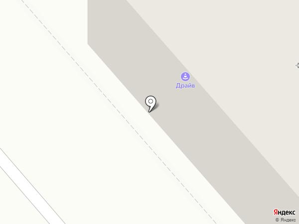 Крыпива на карте Кургана