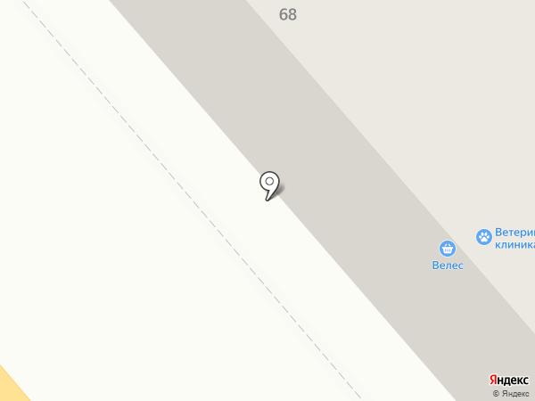 Магазин нижнего белья на карте Кургана
