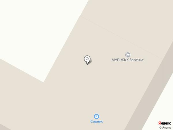 Сервис на карте Исетского